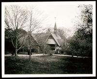 New York City: unidentified church and grounds, Queens, undated.