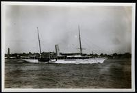 Unidentified yacht, undated.