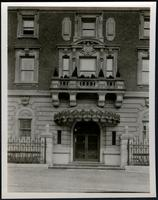 New York City: unidentified building entry, undated.