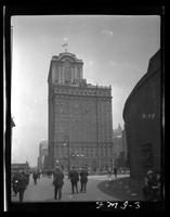 New York City: Whitehall Building, 17 Battery Place, Battery Park, after 1-14 West Street addition, undated.