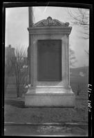 New York City: Lower East Side World War I memorial, undated.