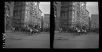 New York City: Hotel Savoy, east side of Fifth Avenue looking south from 59th Street, ca. 1905. Stereograph.