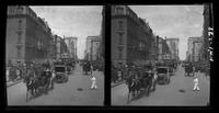 New York City: Fifth Avenue looking north from 50th street, undated. Stereograph.