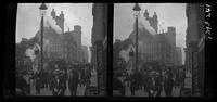 New York City: Broadway at Chambers Street, looking south, undated. Stereograph.