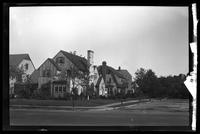 New York City: unidentified neighborhood of single-family houses, Queens, undated.