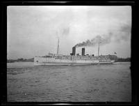 Unidentified steam ship, undated.