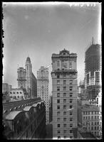 New York City: American Exchange National Bank tower, Nov. 1, 1907.