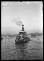 New York City: tugboat 'Flushing,' undated.