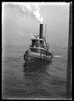 New York City: tugboat 'William J. McCaldin,' 1908.