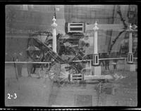 New York City: [unidentified sailor examining captured German artillery piece], undated [ca. 1918]. Double exposure.