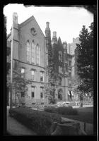Brooklyn: Packer Collegiate Institute, [rear view, south side of Joralemon Street between Court Street and Clinton Street, 1922.]