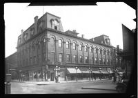 Brooklyn: Avon C. Burnham's gymnasium, [southeast corner of Smith Street and Schermerhorn Street, 1922.]