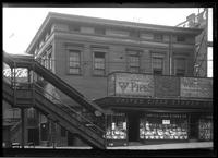 Brooklyn: [Samuel Bowne House, 145 Washington Street, southeast corner of Sand Street, 1922.]