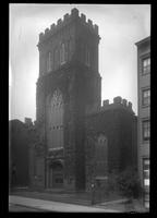 Brooklyn: First Presbyterian Church [of Brooklyn, west side of Henry Street south of Clark Street, 1922.]
