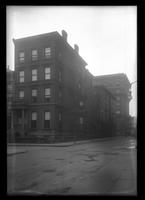 Brooklyn: unidentified corner townhouse, undated.