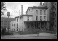 Brooklyn: Col. David M. Stone House, [west side of Franklin Avenue opposite the block between Hancock Street and Jefferson Avenue, 1922.]