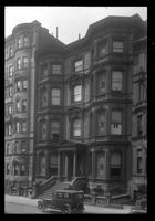 Brooklyn: Horace B. Claflin House, [Pierrepont Street, north side, between Willow Street and Hicks Street, 1922. Built 1874.]