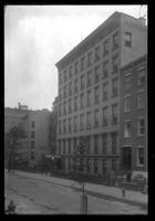 Brooklyn: Mansion House, [137-153 Hicks Street between Clark Street and Love Lane, 1922. Demolished.]