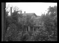Brooklyn: [unidentified large wooden house surrounded by trees], undated.