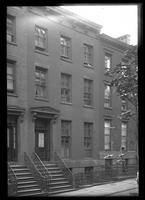 Brooklyn: [unidentified brick townhouse], undated.
