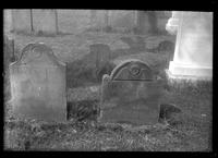Flatlands: gravestones in Flatlands churchyard, [1922].