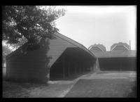 Flatlands: wagon sheds [at the Dutch Church of Flatlands, 1922.]