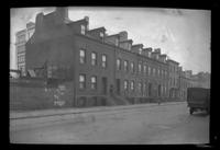 Manhattan / Brooklyn: [unidentified set of row houses, undated.]