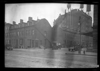 Manhattan / Brooklyn: [unidentified mixed residential / commercial intersection, undated.]