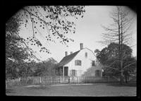 Flatlands: [Ryerson House, Church Avenue and New Lots Road, undated. Wide 3/4 view.]