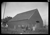 Flatlands: [Ryerson House barn, undated.]