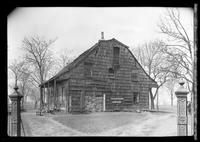 Flatlands: [Nicholas Schenck House in Canarsie Park, undated. Close side view.]