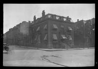 Brooklyn: Oscar Hawley House, Bedford Avenue and Rodney Street, 1922. Later headquarters of the Hanover Club, 1891-1922.