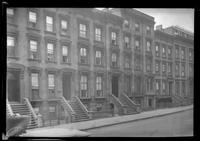 [Brooklyn: unidentified townhouses, undated.]
