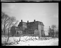 [Newtown: Samuel Renne House (later Bretonaire House), Elmhurst,  [1923]. Rear view.]