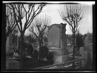 Newtown: [Armbruster monument in unidentified cemetery, undated.]