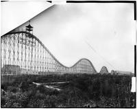 Brooklyn: Coney Island roller coaster, The Chase Through the Clouds, undated.
