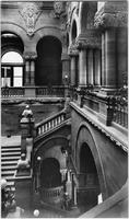 Albany, New York: Great Western Staircase (Million Dollar Staircase), New York State Capitol building, undated.