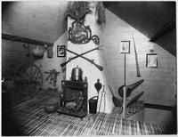 Bayshore, New York: attic (?), Sagtikos Manor House, undated.
