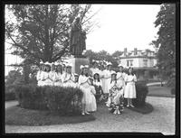 The Class of St. Mary's (young girls), Roman Catholic Orphan Asylum, Kingsbridge, Bronx, May 30, 1920.
