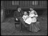 John and Louise Shryock and babies, ca. 1912.