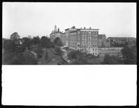 The Roman Catholic Orphan Asylum buildings, Kingsbridge, Bronx, October 22, 1914. 8.25 in. lens.