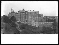 The Roman Catholic Orphan Asylum buildings, Kingsbridge, Bronx, October 22, 1914. 12 in. lens.