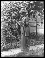 Harriet E. Hassler, Meadville, Pennsylvania, summer 1912.