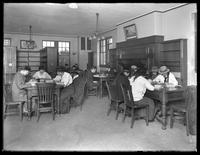 High school study room of the Williamsburgh branch of the Brooklyn Public Library, November 16, 1914.