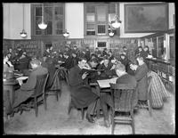 General reading room of the Brownsville branch of the Brooklyn Public Library, November 16, 1914.