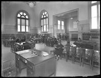 The childrens' department of the Eastern Parkway branch of the Brooklyn Public Library, March 1, 1915..