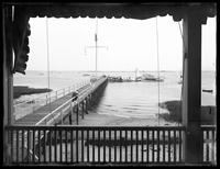 View of Jamaica Bay from the Belle Harbor Boat Club, Belle Harbor, Queens, July 11, 1915.  Photographed for Joseph P. Day.