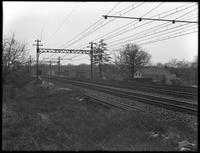 Unidentified stretch of train / trolley tracks, [Bronx?], undated [ca. May 1916].