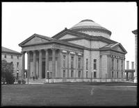 Library, New York University [Bronx campus], Bronx, undated [ca. May 1916.]