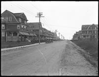 View looking south on Beach 36th Street from Edgemere Avenue, Edgemere, Queens, undated [ca. June / July 1916].